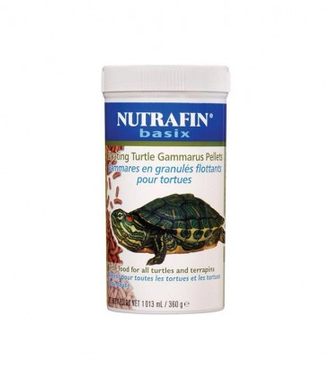 Nutrafin Turtle Pellets 360g A7428 (Pack of 3)
