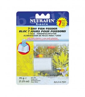 Nutrafin 7 Days Holiday Fish Feeder 35g (A7531)