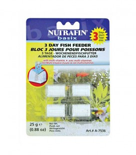 Nutrafin 3 Days Holiday Fish Feeder 25g (A7536)