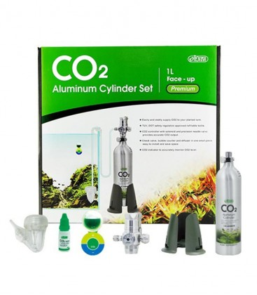 ISTA 1L CO2 Aluminum Cylinder System Professional IF-669