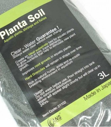 ANS Planta Aquarium Soil 3L (Made in Japan) A21102