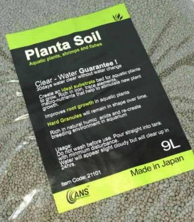 ANS Planta Aquarium Soil 9L (Made in Japan) A21101