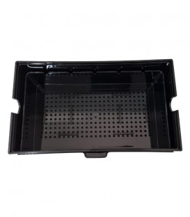 N30 Black OHF Pull-Out Plastic Tray - overhead filter accessories