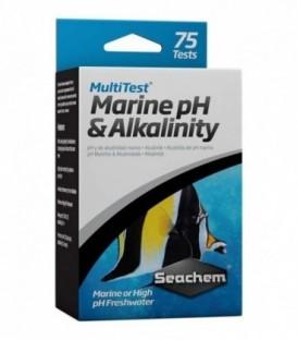 Seachem MultiTest Marine pH & Alkalinity 75 Tests (SC-940)