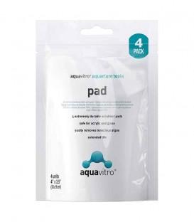 Seachem Aquavitro Pad 4 Pack (SC-7003) algae scrub remover cleaner