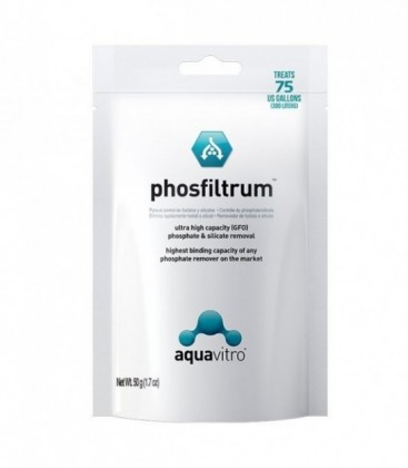 Aquavitro Phosfiltrum 50G Bagged (SC-7720)