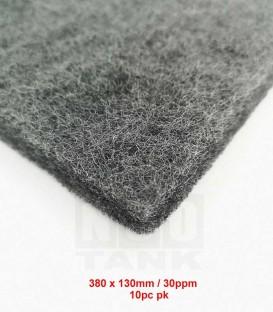 N30 Premium Carbon Nano-Wool (10-pc Pack) 380mm x 130mm filter media