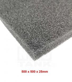 N30 Premium Black Bio-Foam 500mm x 500mm x 25mm (1pc) (N0010)
