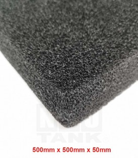 N30 Premium Black Bio-Foam 500mm x 500mm x 50mm (1pc) (N0011)