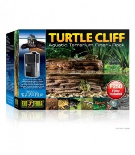 Turtle Cliff Aquatic Terrain Filter (Small) Rock PT3649