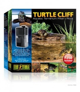 Turtle Cliff Aquatic Terrain Filter (Medium) Rock PT3650
