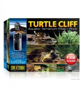 Turtle Cliff Aquatic Terrain Filter (Large) Rock PT3655