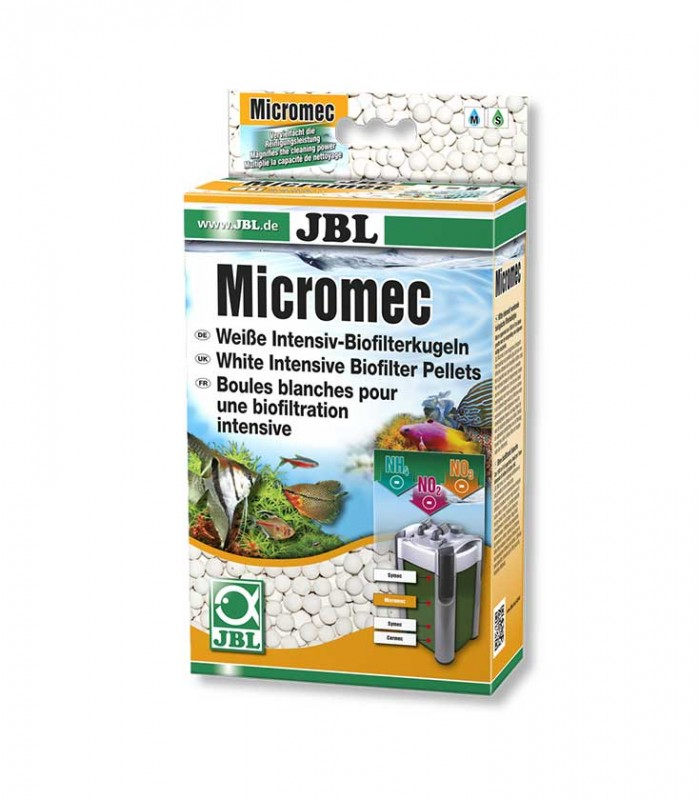 Jbl micromec ammonium and nitrite removal for Jbl aquarium