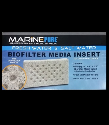 MarinePure BioFilter Media (OHF Box) Insert