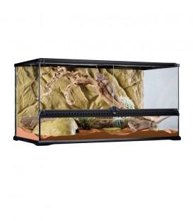 Exo Terra PT2613 Glass Terrarium Large Low - Reptile Amphibian Housing
