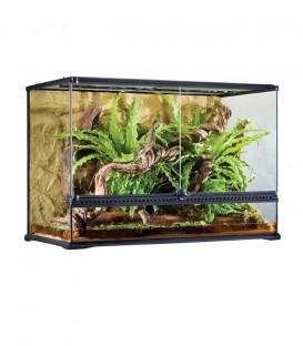 Exo Terra PT2614 Glass Terrarium Large Low - Reptile Amphibian Housing