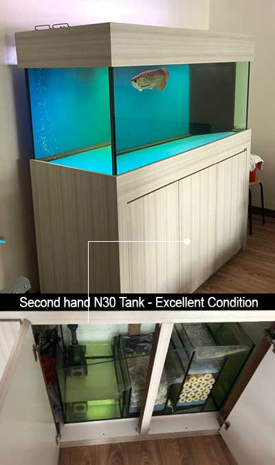 5 Feet N30 Aquarium Cabinet with Overflow