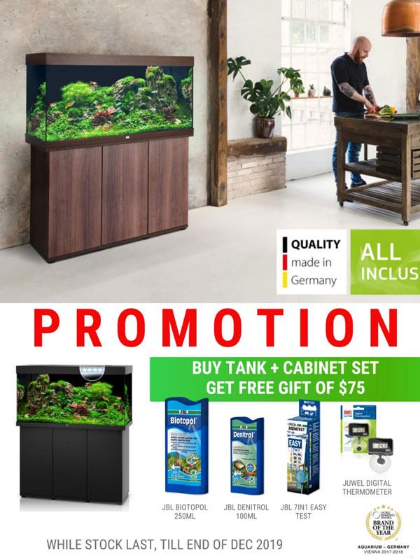 Juwel fish tank promotion