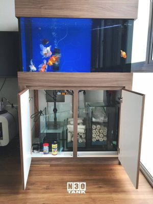 3FT-005: N30 Goldfish Tank Cabinet Sump Set, 3ft x 2ft x 2ft