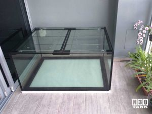 4FT 024: N30 Tank 4ft x 3ft x 2ft h with 6pc glass cover