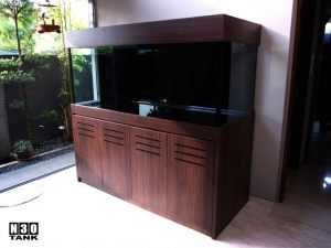6ft-12 - Classic custom made aquarium cabinet by N30 Singapore