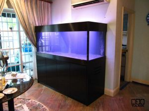 6ft-1 Classic custom aquarium cabinet designed and made by N30 Singapore