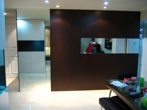Feature wall partition