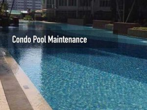 Condominium swimming pool maintenance service