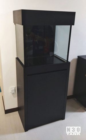 SM-003: N30 Tank 610mm (L) x 410mm (W) x 580mm (H) - Glass Thickness (10mm all)