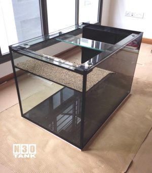 Terrarium-002: Turtle Tank 3ft x 2ft x 2ft custom-made by N30