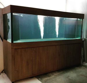 "unique-006 N30 Tank - 19mm all 102.5"" x 35"" x 35"" Arowana comm tank with 7ft sump"