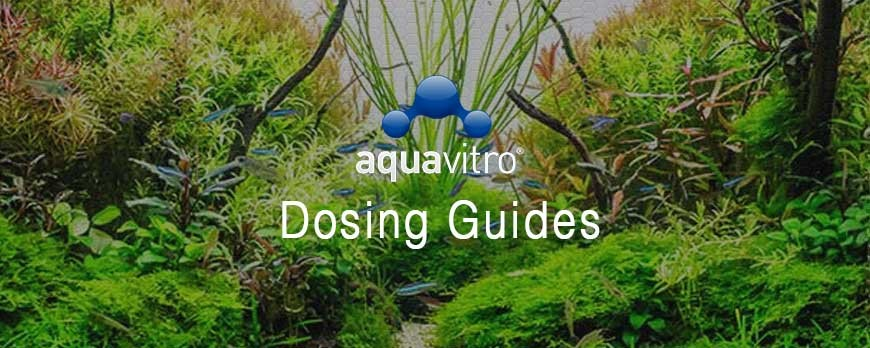 Aquavitro Dosing Charts